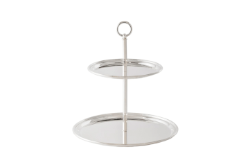 Tiered Silver Tray