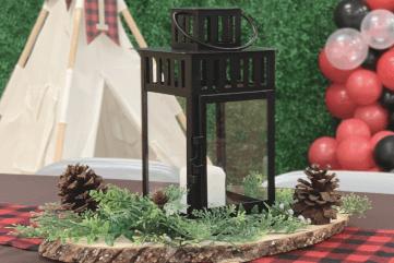lumberjack centerpiece