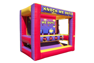Inflatable Knock Me Out Game