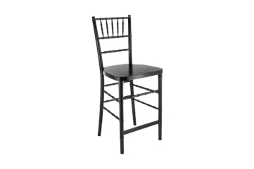 Black Wooden Chiavari Stool