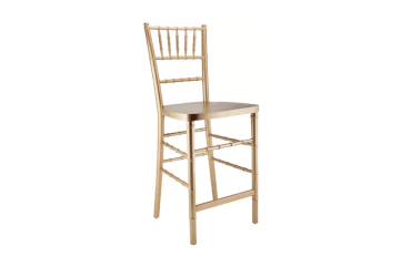 Gold chiavari stool chair