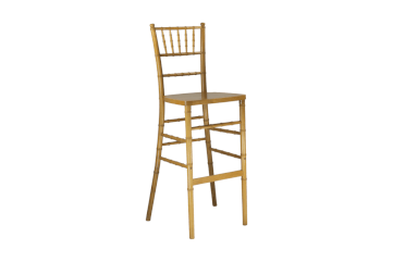 Natural chiavari stool chair