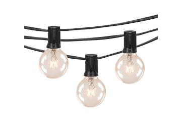 Black Wire Market Lights