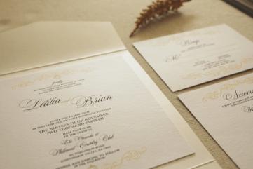 custom invitations and stationery in philadelphia bucks montgomery