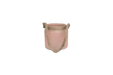 Translucent Pink Votive Jar